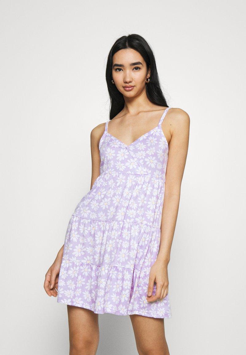Hollister Co. - BARE DRESS - Jerseykjole - lavender