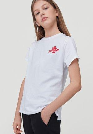 MICKEY  - Print T-shirt - super white
