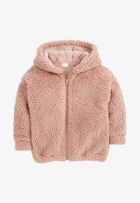 Next - Fleece jacket - pink - 0