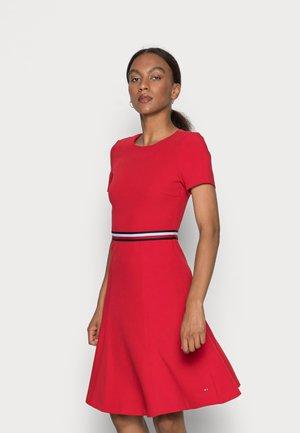 ANGELA FIT FLARE DRESS  - Vestido de cóctel - primary red