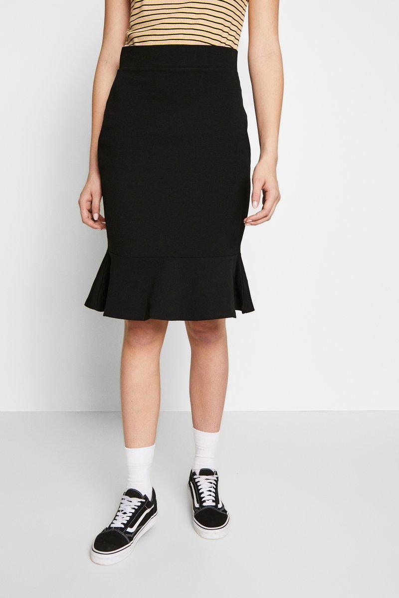 Anna Field Tall - Pencil skirt - black