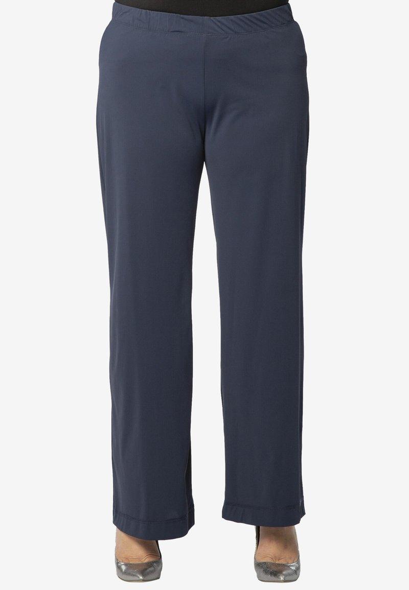 Yoek - Trousers - navy