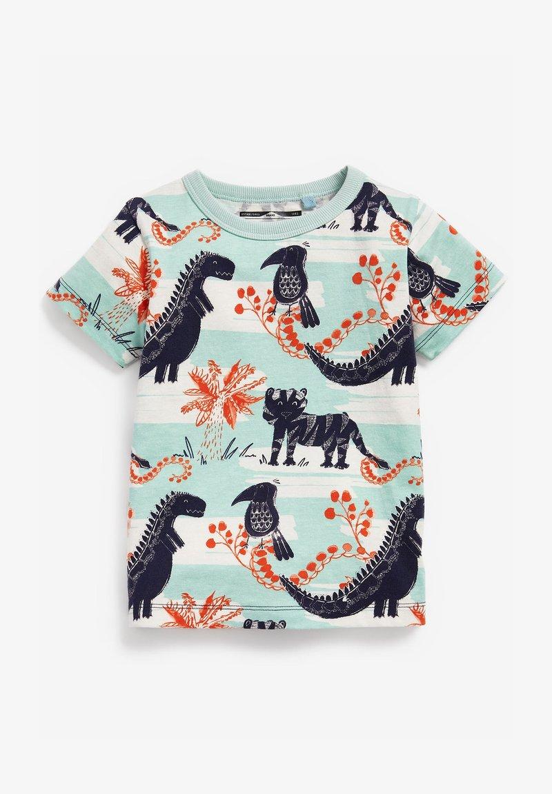 Next - Print T-shirt - light blue
