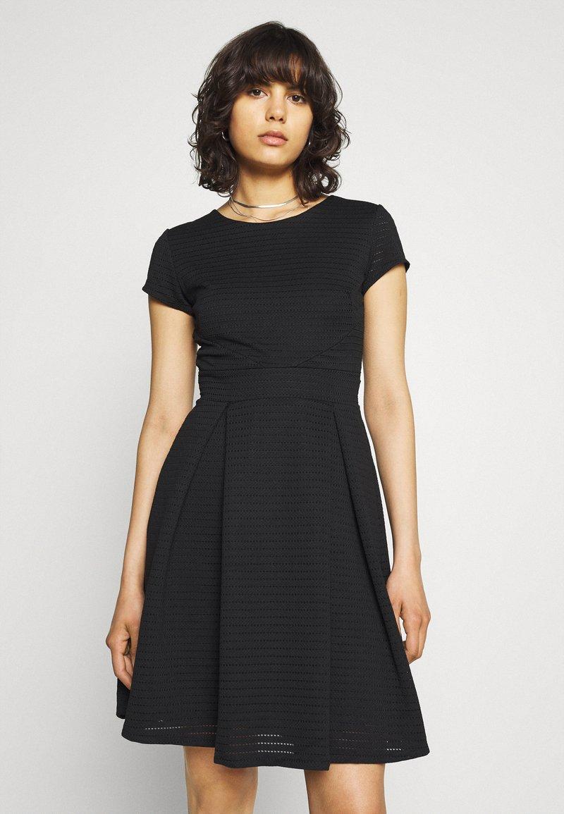 WAL G. - BRIEGE SKATER DRESS - Day dress - black
