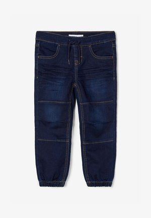 BAGGY FIT - Relaxed fit jeans - dark blue denim