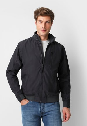 TECH BOMBER - Bomber Jacket - dark grey