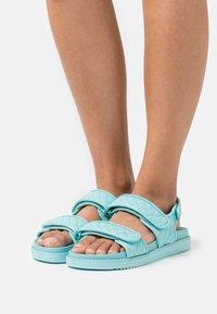 ALDO - EOWILIWIA - Platform sandals - turquoise - 0
