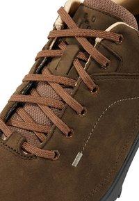 Haglöfs - RIDGE LEATHER - Hiking shoes - soil - 5