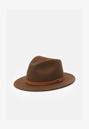 MESSER FEDORA - Hat - toffee
