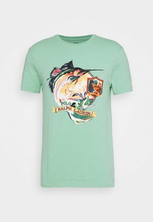 T-Shirt print - bayside green
