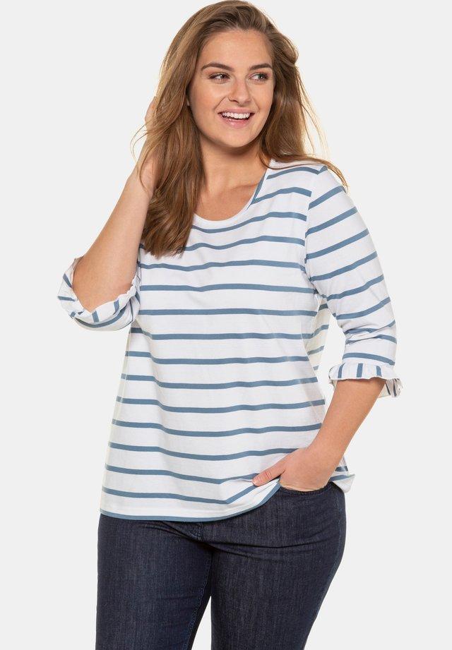 Long sleeved top - puderblau