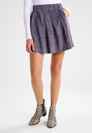 KIA - A-line skirt - grey shadow