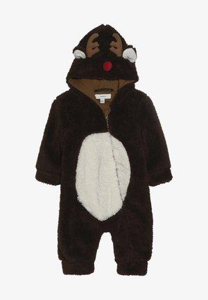 NBNMUDOLPH TEDDY SUIT - Jumpsuit - bronze brown