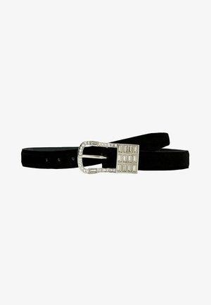 MIT AUSGEFALLENER  - Belt - black