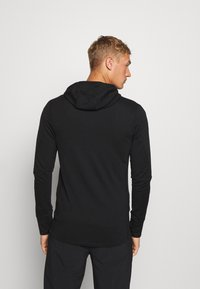 Icebreaker - MENS QUANTUM ZIP HOOD - Zip-up hoodie - black - 2