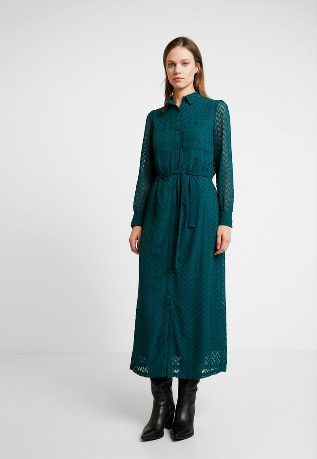 PROVENCE DRESS - Shirt dress - ponderosa green
