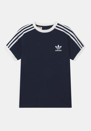 STRIPES TEE - Camiseta estampada - collegiate navy/white