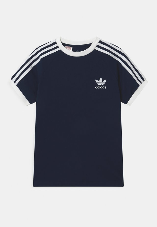 STRIPES  - Print T-shirt - collegiate navy/white