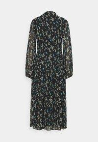 Anna Field - VOLANT MAXI DRESS PRINTED - Day dress - black/blue - 1
