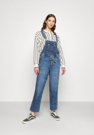 90`S BAGGY OVERALL - Dungarees - blue vibe