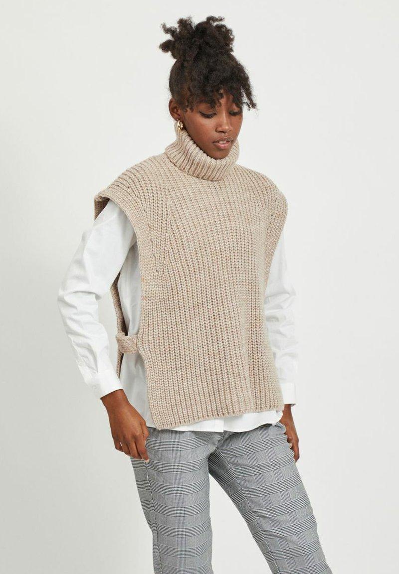 Object - Waistcoat - beige