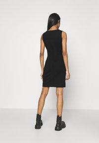 Diesel - D-HEVA - Jersey dress - black - 2
