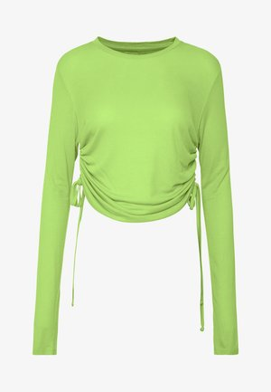 DUA LIPA X PEPE JEANS  - Long sleeved top - lime