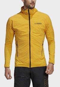 adidas Performance - TERREX SKYCLIMB FLEECE JACKET - Fleece jacket - yellow - 3