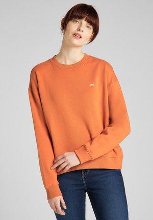 CREW SWS - Sweatshirt - desert orange