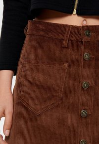 ONLY - ONLAMAZING SKIRT - A-line skirt - coffee bean