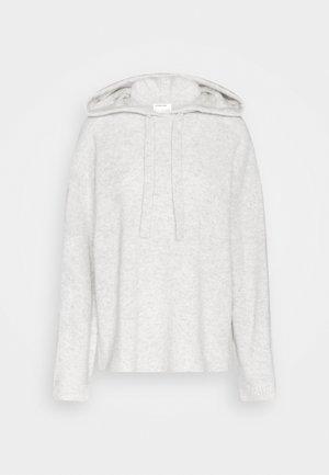 AVA HOODIE - Hoodie - light grey melange