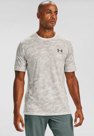 CAMO - Print T-shirt - onyx white