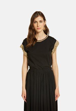 CAMISETA CON ALAS  - T-shirt con stampa - nero