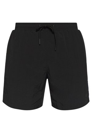 TAPED SWIM - Swimming shorts - black