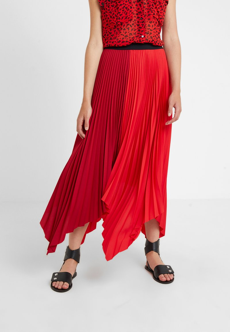 Escada Sport - ROCKSTAR - Pleated skirt - racing red