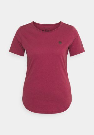 MYSID R T OPTIC SLIM WMN  - T-shirts med print - dark finch