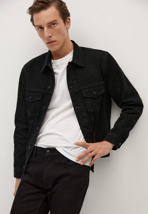 RYAN - Giacca di jeans - black denim