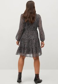 Violeta by Mango - COLOM - Day dress - dunkelgrau meliert - 2