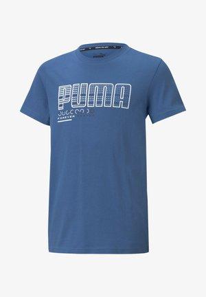 Print T-shirt - star sapphire