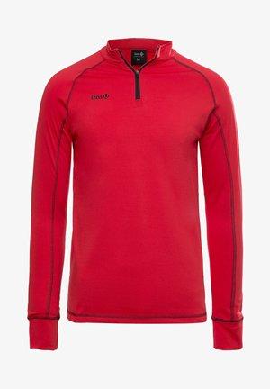 GORNER - T-shirt à manches longues - red black