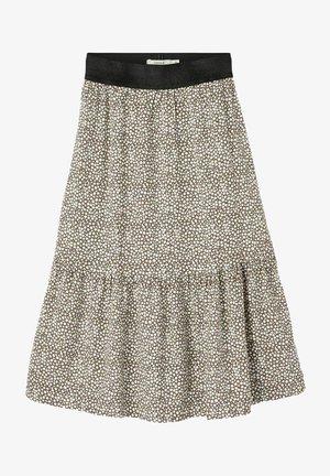 Pleated skirt - desert palm