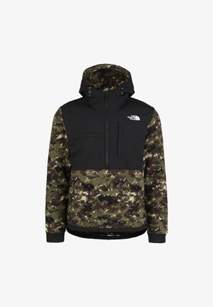 THE NORTH FACE DENALI ANORAK 2 FLEECEJACKE HERREN - Fleecová bunda - burnt olive green / digi camo print