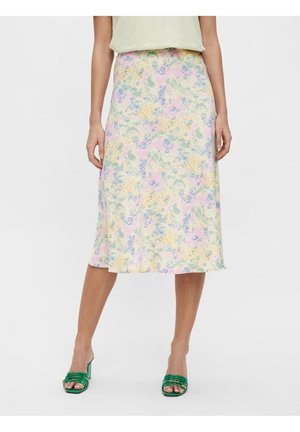 YASDOTTEA MIDI SKIRT - A-line skirt - multi-coloured