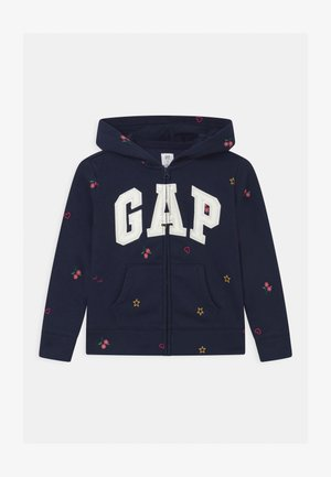 GIRLS LOGO - Zip-up hoodie - navy uniform