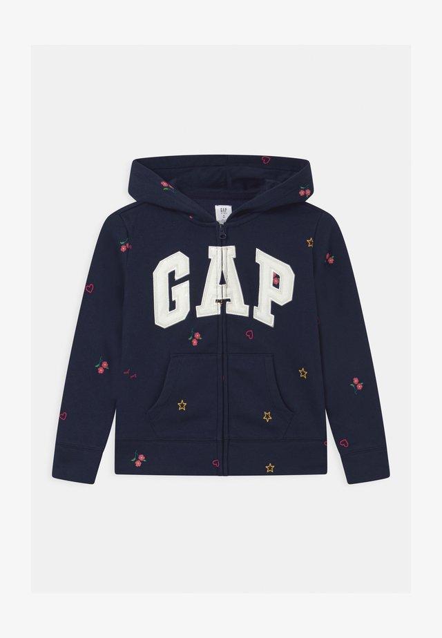 GIRLS LOGO - Zip-up hoodie - navy uniform