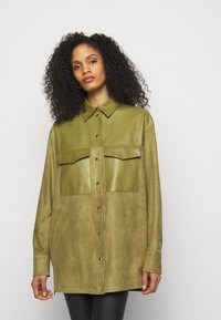 Bally - LUX SUMMER - Short coat - khaki - 0