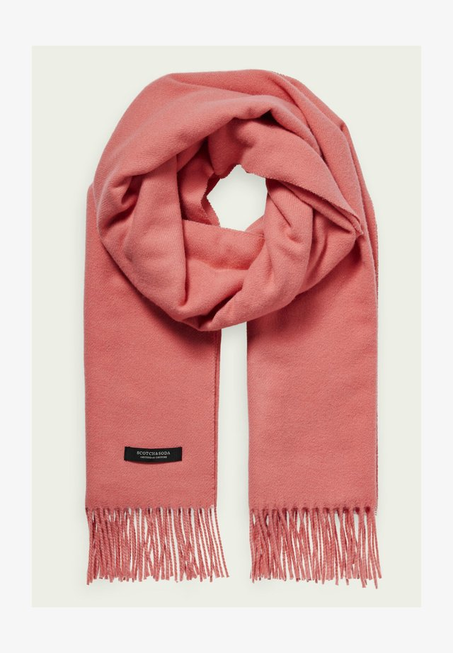 Sjaal - folklore pink