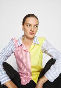 Lauren Ralph Lauren - JAMELKO LONG SLEEVE - Button-down blouse - multi coloured - 3
