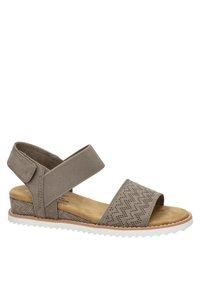 BOBS from Skechers - Wedge sandals - taupe - 2
