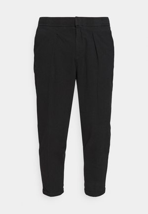 JOHNNY PANTS - Spodnie materiałowe - black